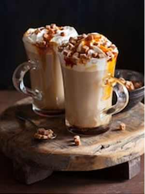 Salted Caramel Cappuccino